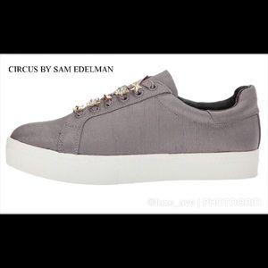 CIRCUS BY SAM EDELMAN Shania Satin Sneakers